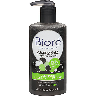 biore charcoal ingredients