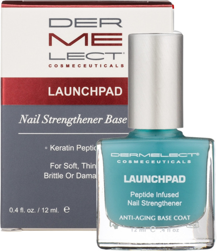 Dermelect Launchpad Peptide Infused Nail Strengthener Base Coat ...
