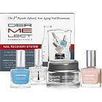 Peptide Infused Nail Recovery System for Damaged or Aging Nails