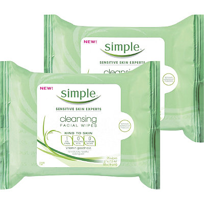 Kind to Skin Cleansing Facial Wipes 2 pack