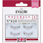 EylureNaturalite Natural Volume Eyelashes Twinpack 020