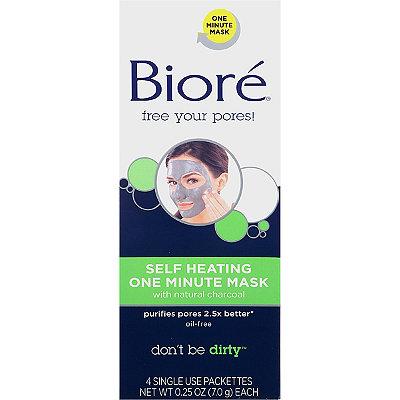 BioréSelf Heating One Minute Mask