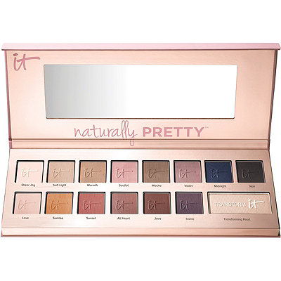 It CosmeticsNaturally Pretty Vol 1 Matte Luxe Transforming Eyeshadow Palette