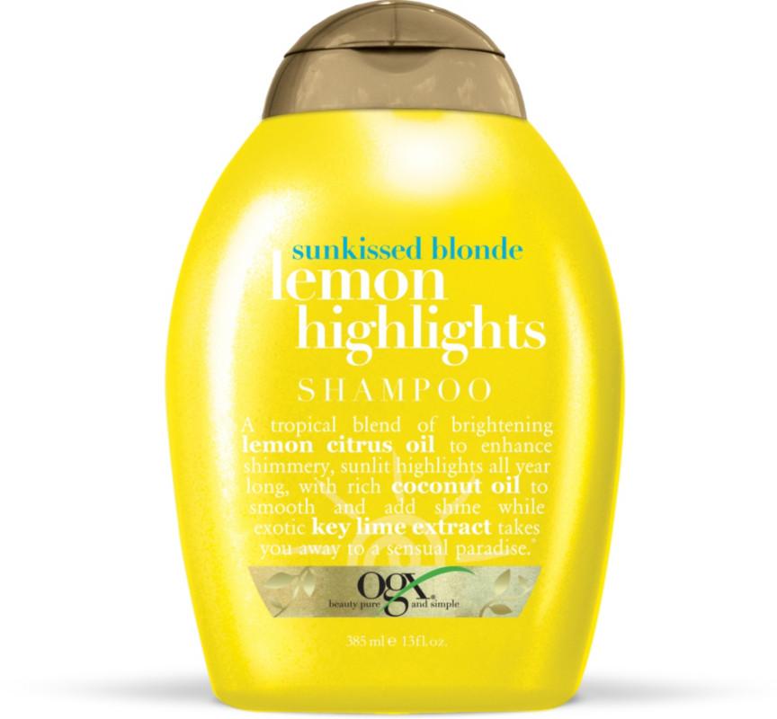 Ogx Sunkissed Blonde Lemon Highlights Shampoo Shop Your Way