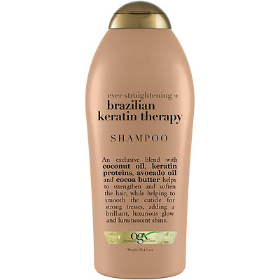 OGXEver Straight Brazilian Keratin Therapy Shampoo