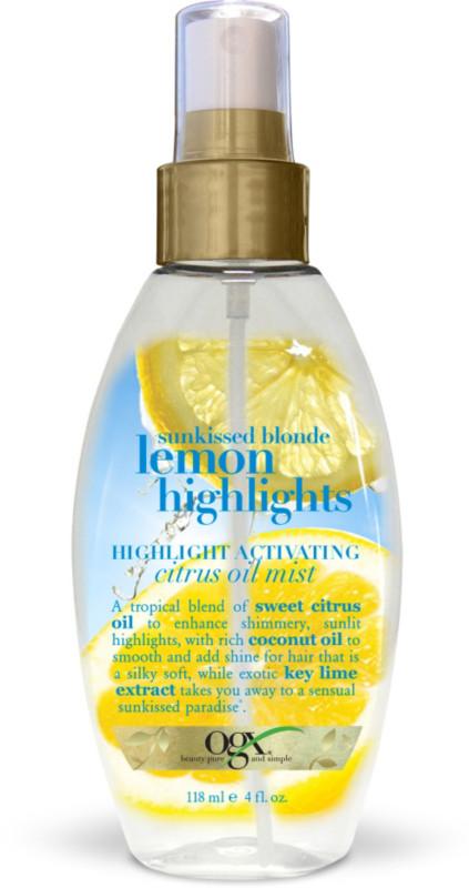 Image result for ogx lemon highlights