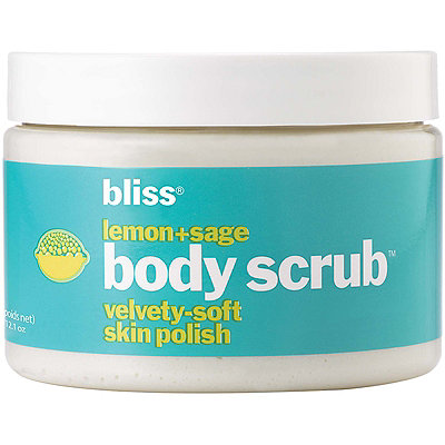 Bliss Online Only Lemon + Sage Body Scrub
