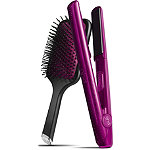 Jewel Collection Gold 1 Inch Professional Styler in Pink Diamond w%2F Paddle Brush