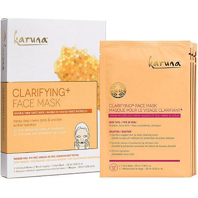 KarunaOnline Only Clarifying+ Face Sheet Masks
