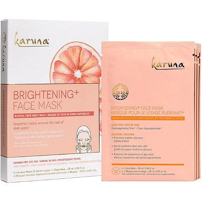 KarunaOnline Only Brightening+ Face Sheet Masks