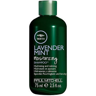 Travel Size Tea Tree Lavender Mint Moisturizing Shampoo
