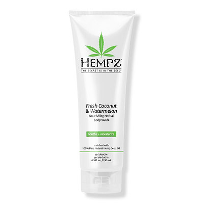 HempzFresh Coconut & Watermelon Nourishing Herbal Body Wash