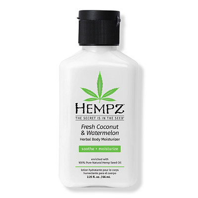 HempzMini Fresh Coconut And Watermelon Herbal Body Moisturizer