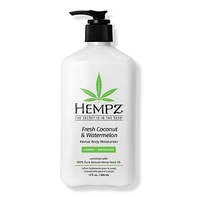 HempzFresh Coconut & Watermelon Herbal Body Moisturizer