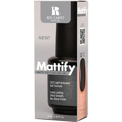 Red Carpet ManicureMattify Matte Top Coat Nail Gel