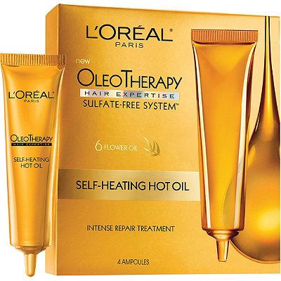 L'OréalOleo Therapy Self-Heating Hot Oil Intense Repair Treatment