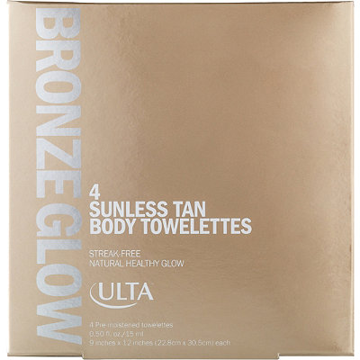 ULTA Bronze Glow Sunless Tan Body Towelettes