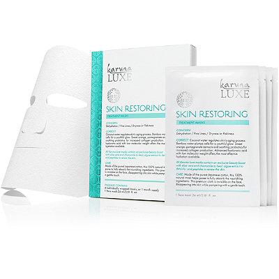 KarunaOnline Only Luxe Skin Restoring Treatment Masks