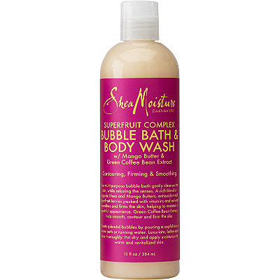 SheaMoisture SuperFruit Complex Bubble Bath %26 Body Wash