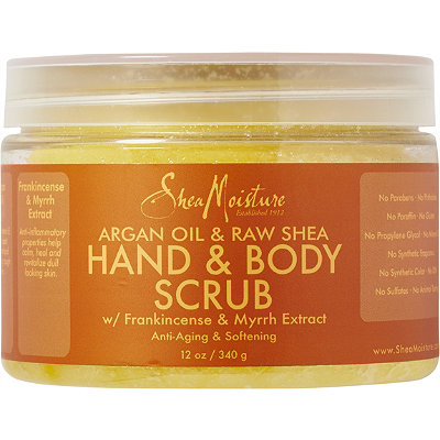 SheaMoisture Argan Oil & Raw Shea Hand & Body Scrub