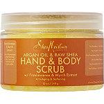 Argan Oil & Raw Shea Hand & Body Scrub