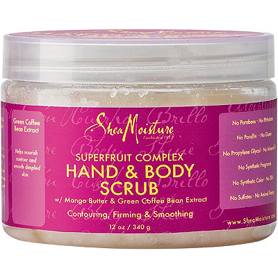 SheaMoisture SuperFruit Complex Hand %26 Body Scrub