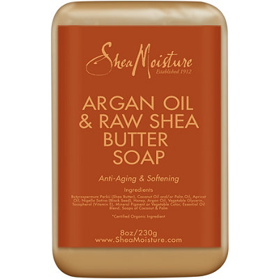 SheaMoisture Argan Oil & Raw Shea Butter Bar Soap