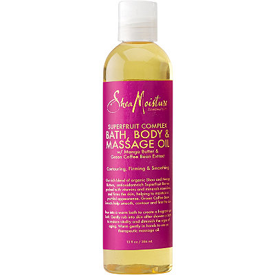 SheaMoisture Superfruit Complex Bath%2C Body %26 Massage Oil