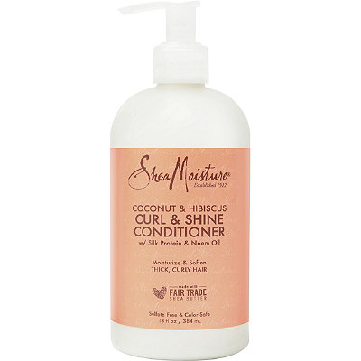 SheaMoisture Coconut %26 Hibiscus Curl %26 Shine Conditioner