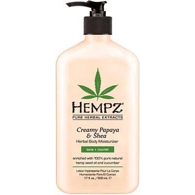 HempzCreamy Papaya & Shea Herbal Body Moisturizer