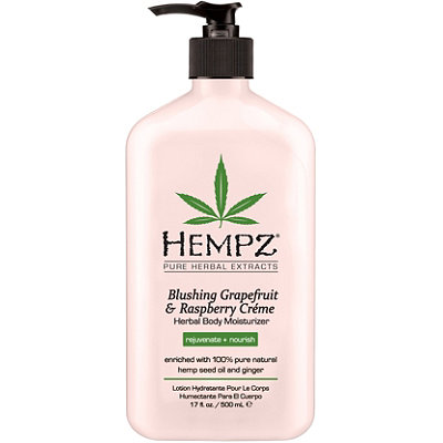 Hempz Blushing Grapefruit %26 Raspberry Creme Herbal Body Moisturizer