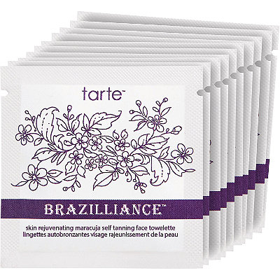 TarteBrazilliance Skin Rejuvenating Maracuja Self Tanning Facial Towelettes