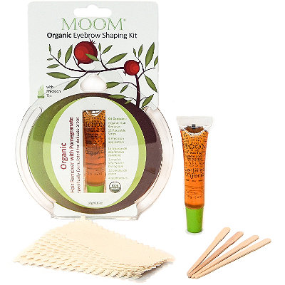 Moom Organic Eyebrow Shaping Kit with Pomogranate Oil