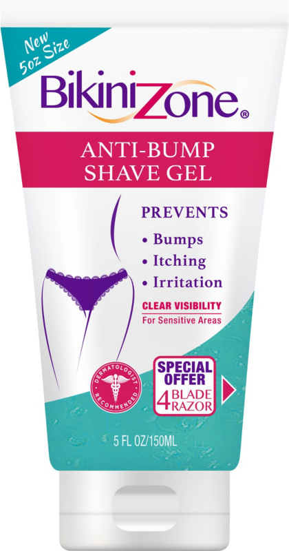 Can you use shaving gel on your pubic area