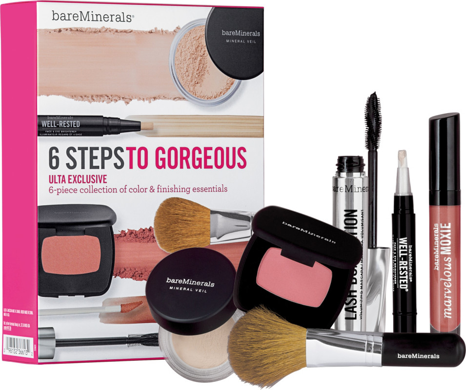 What color is the powder in the bare mineral set  - ShopYourWay