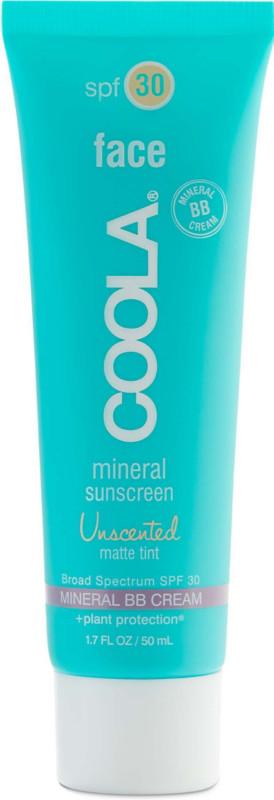 Coola face sunscreen