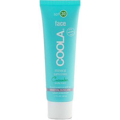CoolaMineral Face SPF 30 Matte Cucumber