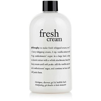 Fresh Cream Shampoo, Shower Gel & Bubble Bath