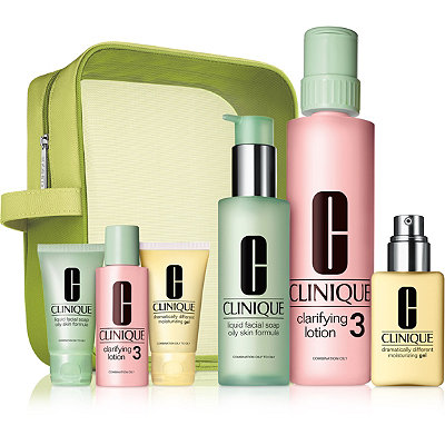 Clinique Great Skin Home %26 Away Set For Oilier Skin %28Type III%2FIV%29