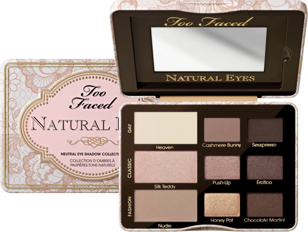Too Faced Natural Eyes Neutral Eyeshadow Palette Ulta Beauty