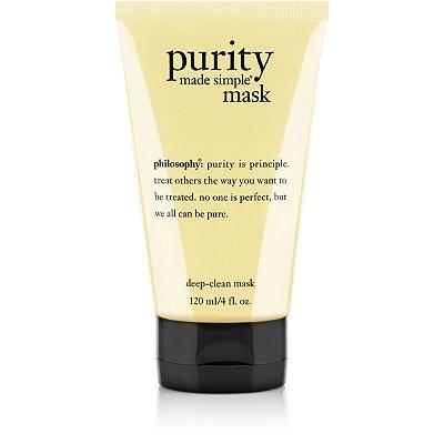 PhilosophyPurity Made Simple Deep-Clean Mask