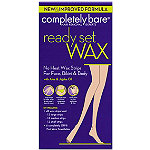 Completely Bare Ready Set Wax Hypoallergenic Wax Strips for Face, Bikini & Body