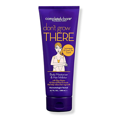 Completely Bare Don't Grow There Hair Growth Inhibitor & Body Moisturizer