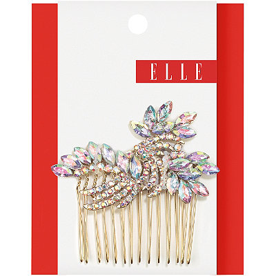ElleSide Comb Iridescent Stone 1 Set