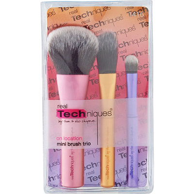 Real Techniques Mini Trio Brush Set