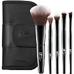 IT Brushes For ULTA Your Face & Eye Essentials Mini 5 Pc Travel Brush Set