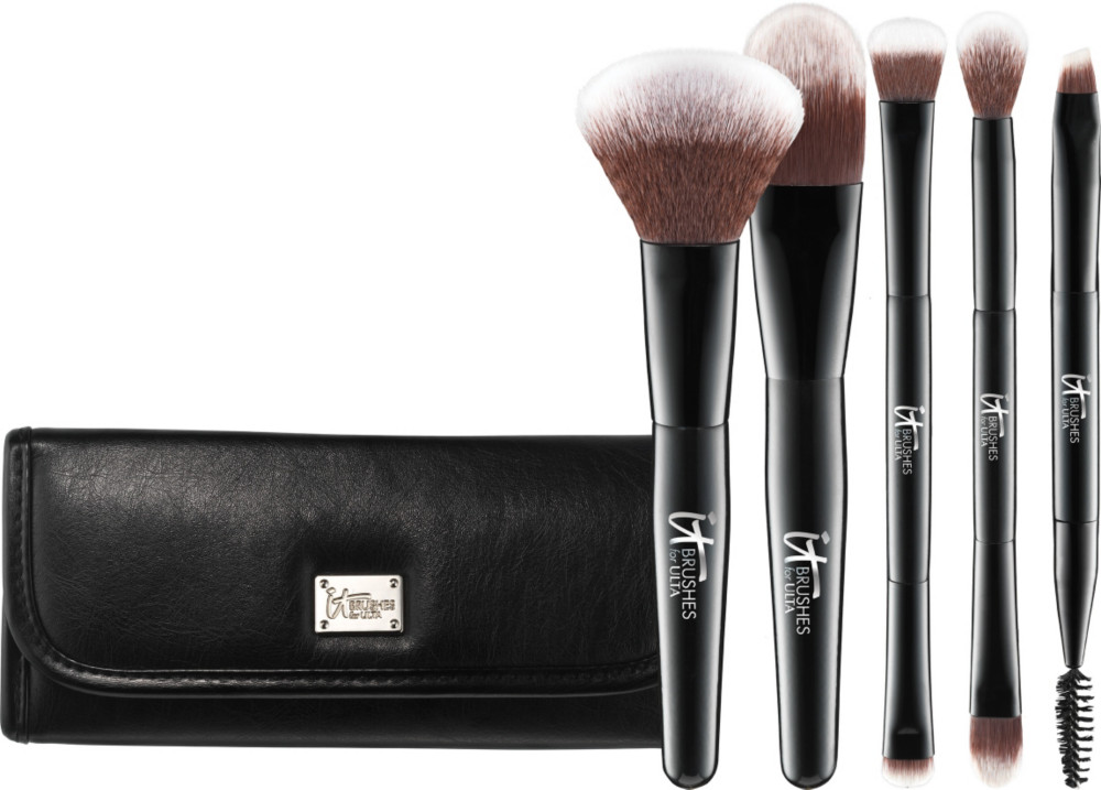 cheap brush sets. your multi-tasker deluxe dual-ended travel brush set cheap sets e