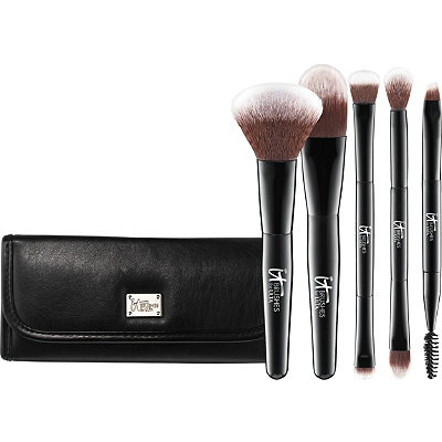 Your Multi-Tasker Deluxe Dual-Ended Travel Brush Set