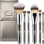 IT Brushes For ULTA Your Superheroes Full-Size Travel Makeup Brush Set