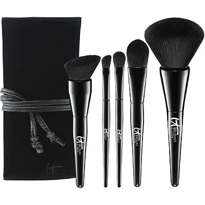 IT Brushes For ULTA Experience Velvet Blurring 5 Pc Ultimate Luxe Set